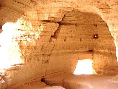 Vista interior de la Cueva 4