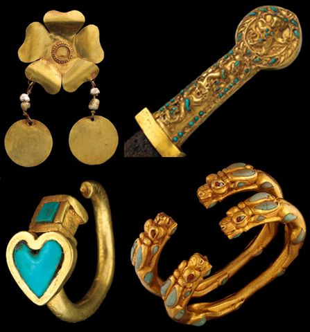 Pieces of Central Asian Art